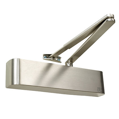 Rutland TS.9204BC Satin Nickel Overhead Door Closer Size 2 - 4