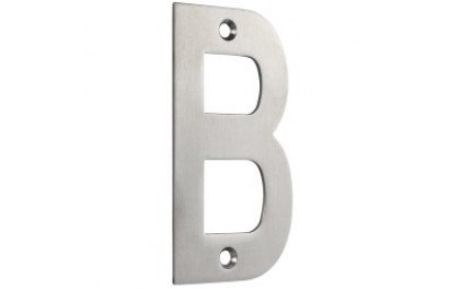 ZSN ZOO SATIN STAINLESS STEEL 102mm LETTER