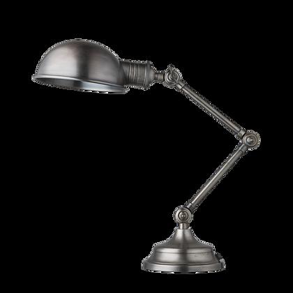 Brooklyn Pharmacy Adjustable Dome Table Lamp - 7 Inch - Gunmetal