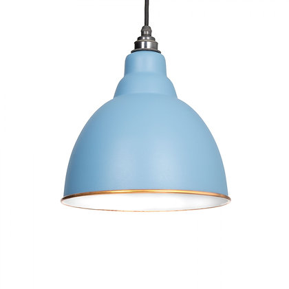 From The Anvil Brindley Pendant Accents Pale Blue