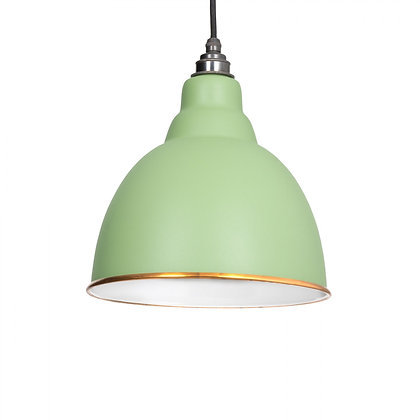 From The Anvil Brindley Pendant Accents Sage Green 49507sg