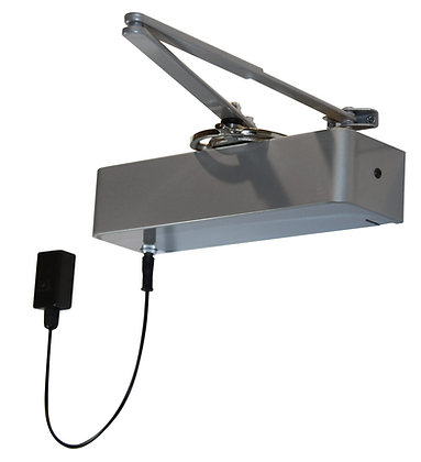 Rutland Responder 24 Polished Nickel Electro Magnetic Overhead Door Closer