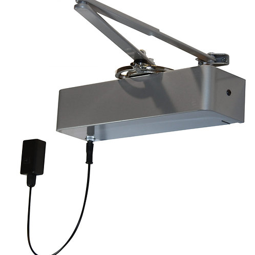 Rutland Responder 24 Polished Nickel Electromagnetic Overhead Door Closer