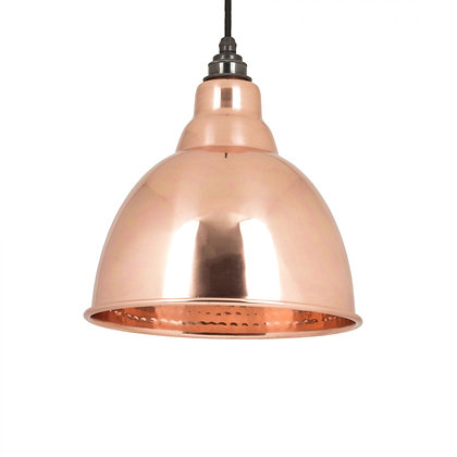 From The Anvil Brindley Pendant Hammered Copper 49500