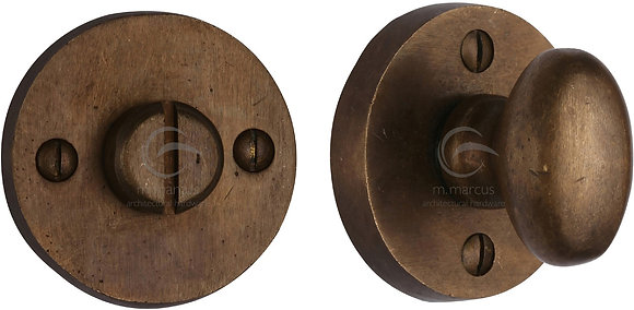 Heritage Brass RBL555 Solid Rustic Bronze Bathroom Turn & Release