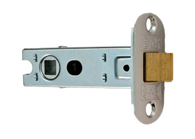 Eurospec BTL4/R Radius Tubular Mortice Latch 76mm