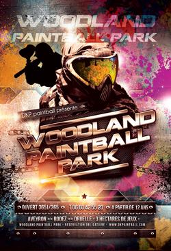 Flyer woodland paintball park