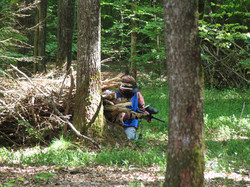 Rodez paintball Foret