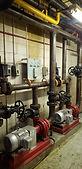 Asbestos pipe insulation
