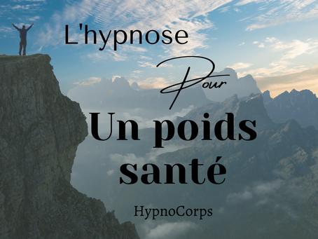 Hypnose et poids santé