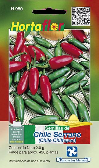 Chile Serrano Chile Chiltepec