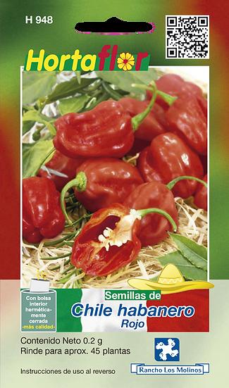 Chile Habanero Rojo