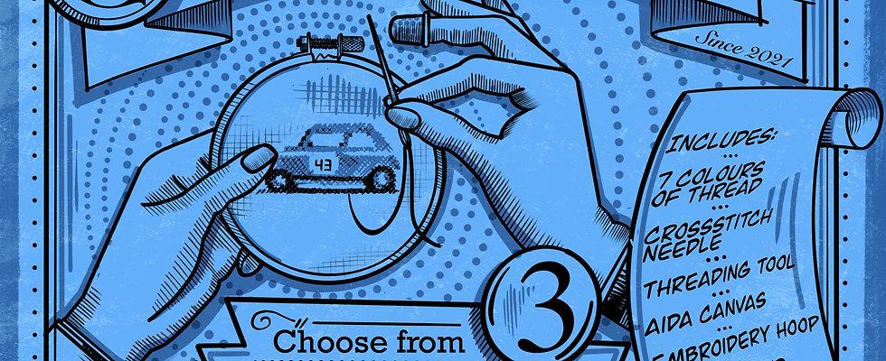 British Classic Automotive Icon Kit
