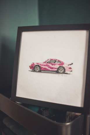 003 The PINK Porsche