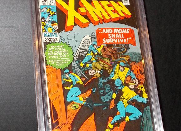 X-Men #70 (1971) Graded a 4.0 by CBCS