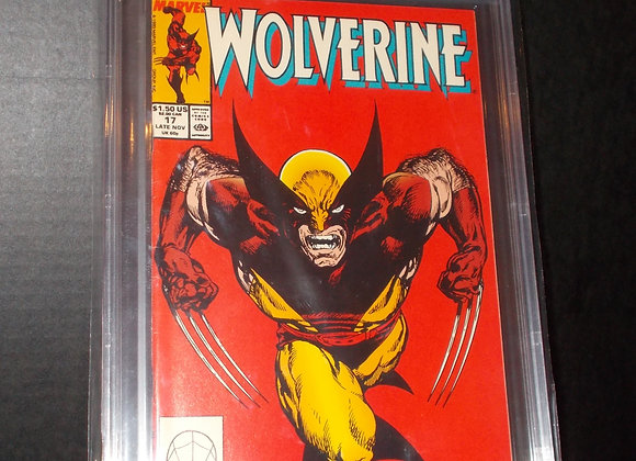 Wolverine #17 (1989) Graded a 9.0 by CBCS