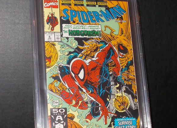 Spider-Man #6 (1991) Graded a 9.8 by CBCS