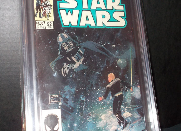 Star Wars #92 (1985) Graded an 8.5 by CBCS