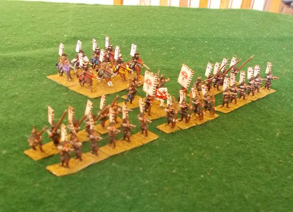 41 painted 15mm Peter Pig Models/Kazumasa Samurai Clan (1600AD)