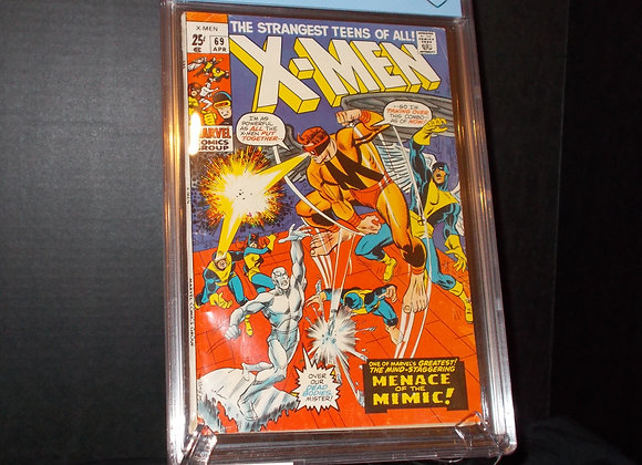 X-Men #69 (1970) Graded a 3.5 by CBCS