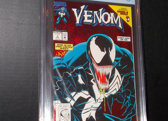 Venom: Lethal Protector #1 Red Foil Variant (1993) Graded a 8.5 by CBCS