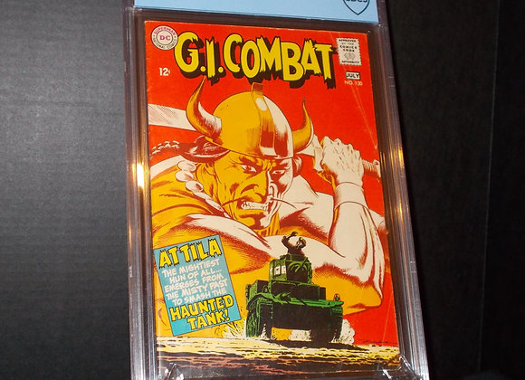 GI Combat #130 (1968) Graded a 4.0 by CBCS