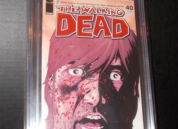The Walking Dead #40 (2007) Graded a 9.4 by CBCS