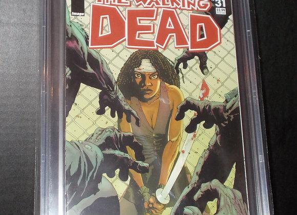 The Walking Dead #31 (2006) Graded a 9.4 by CBCS