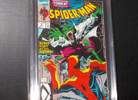 Spider-Man #2 (1990) Graded a 9.8 by CBCS