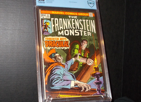 Frankenstein #8 (1974) Graded a 3.0 by CBCS