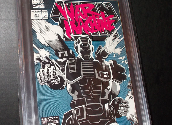 Iron Man #282 (1992) Graded a 9.6 by CBCS
