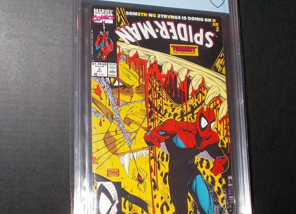 Spider-Man #3 (1990) Graded a 9.8 by CBCS