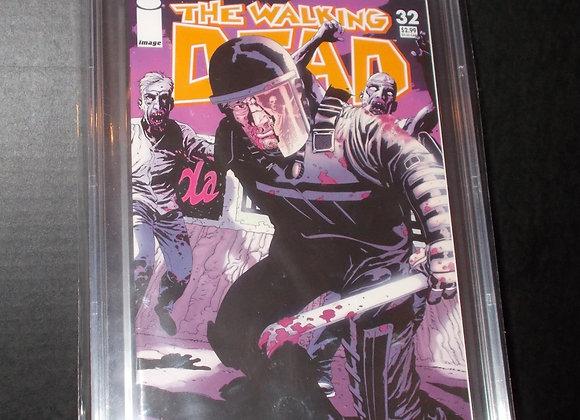 The Walking Dead #32 (2006) Graded a 9.4 by CBCS