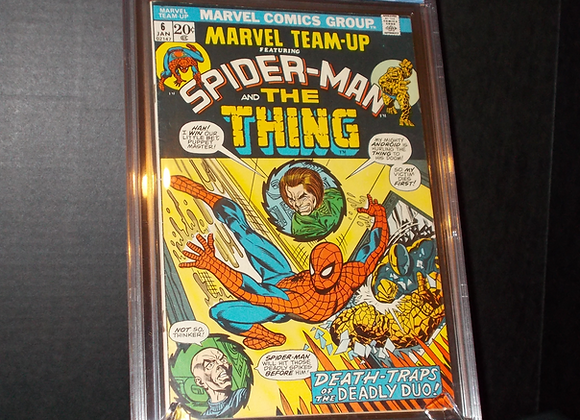 Marvel Team-Up #6 (1973) Graded a 6.0 by CBCS