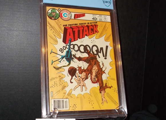 Attack #19 (1971) Graded a 6.0 by CBCS