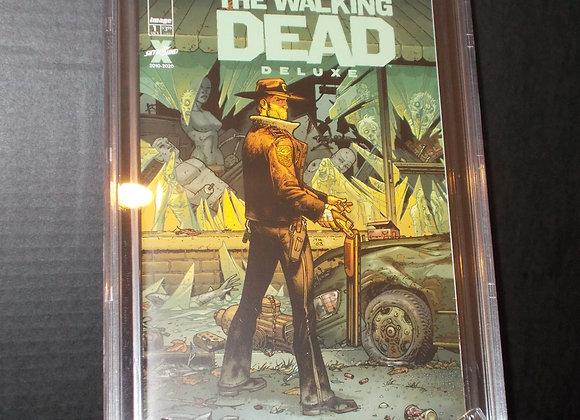 Walking Dead Delux #1B (2020) Graded a 9.8 by CBCS