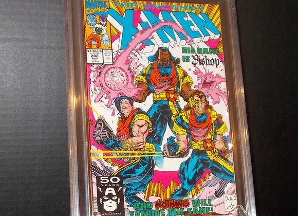 Uncanny X-Men #282 (1991) Graded an 8.5 by CBCS