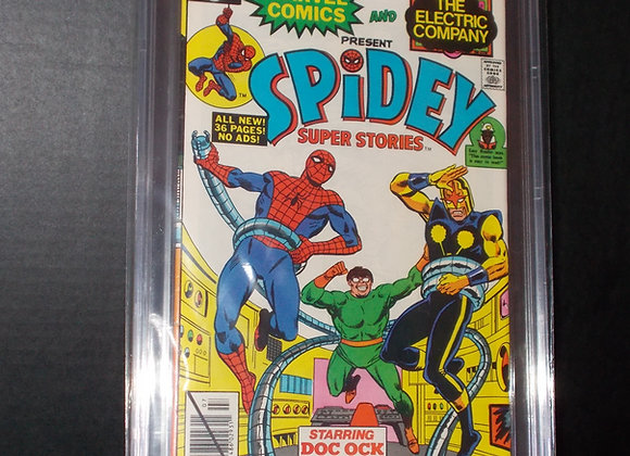 Spidey Super Stories #41 (1979) Graded a 8.5 by CBCS