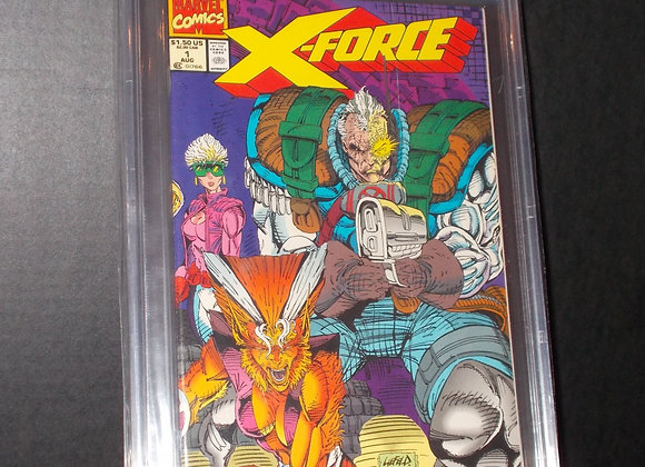 X-Force #1 (1991) Graded a 8.0* by CBCS