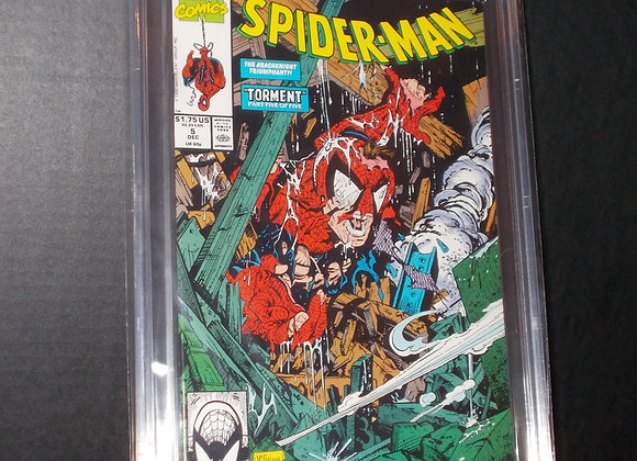 Spider-Man #5 (1990) Graded a 9.6 by CBCS