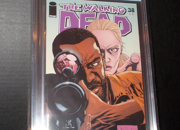 The Walking Dead #38 (2007) Graded a 9.2 by CBCS