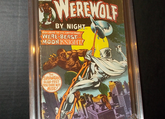 Werewolf By Night #33 (1975) Graded a 3.5 by CBCS