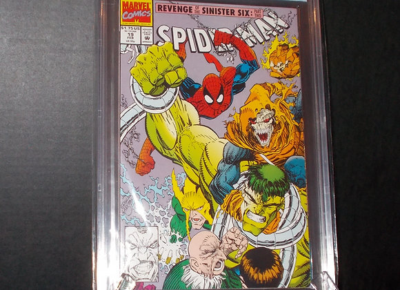Spider-Man #19 (1992) Graded a 9.4 by CBCS