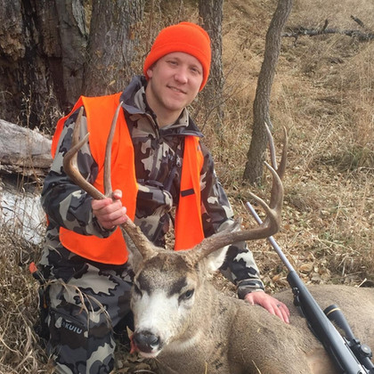 """Thanks Bill, we are having a blast. And he was about 300 when I first seen him shot him about 150 maybe. Just checked it in. Seen probably 11 bucks this morning. Shot him at about 8 o'clock.""  Colt from Pennsylvania, 150 yards, 8:00 a.m.  11/16/2019"