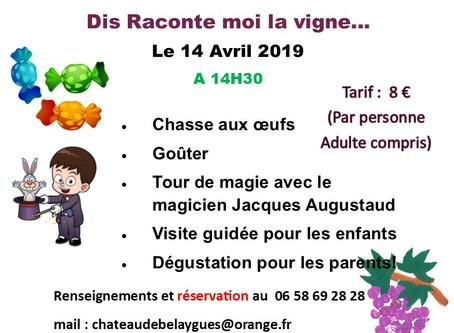 Chasse aux œufs le 14 Avril 2019