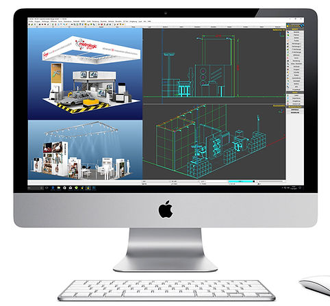Messebau 3D-Messestan Design