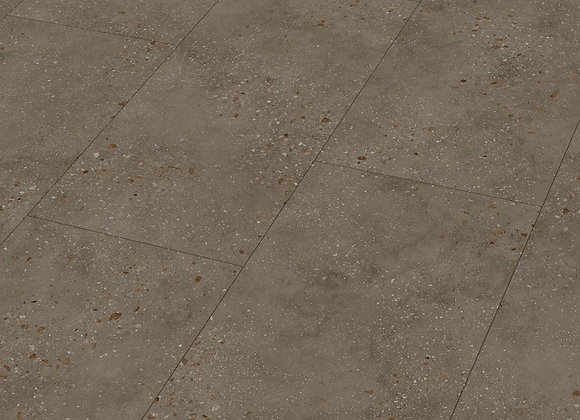 Designboden MeisterDesign.flex DB 400 Terrazzo dunkel 6858 Landhausdiele
