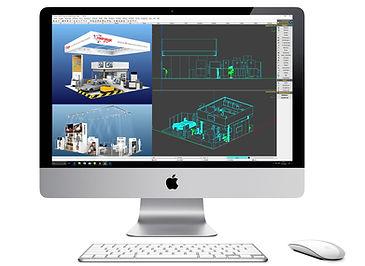 3D Messestand Design