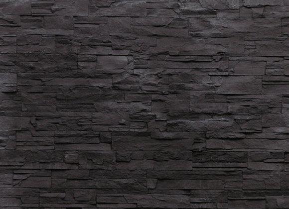 Dekorpaneele Negra schwarz Steinoptik