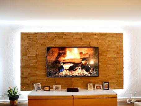 Spaltholz - elegant und warm